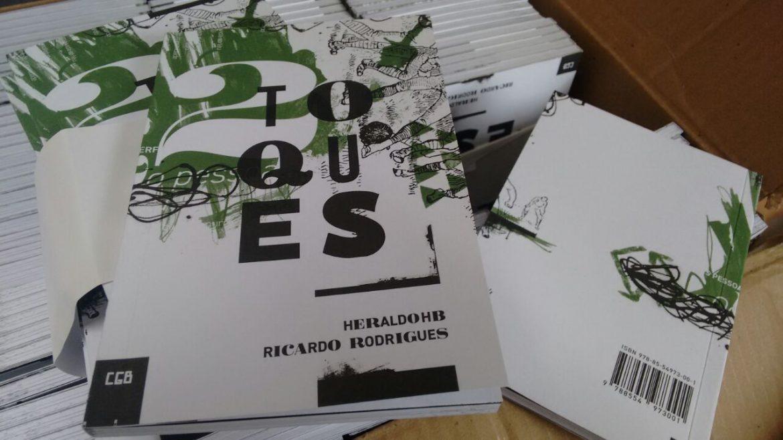 Lançamento do livro 2 Toques, de Heraldo HB e Ricardo Rodrigues